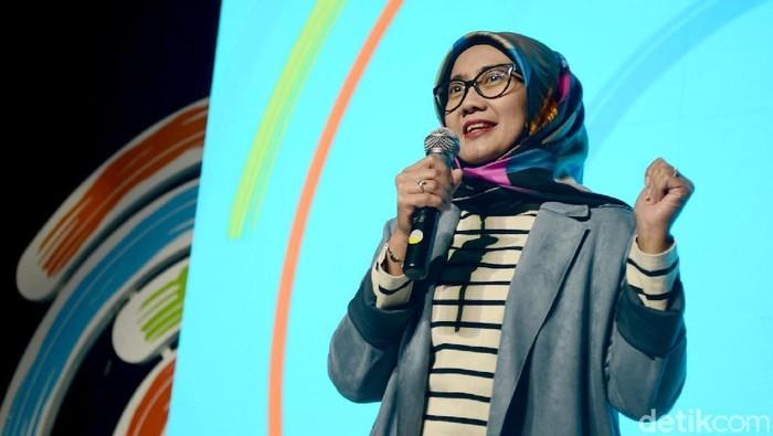 Emma Sri Martini dari Dirut Telkomsel pindah jadi Dir Keuangan Pertamina (Rachman Haryanto/detikcom)