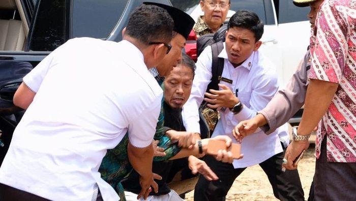 Insiden Penusukan Wiranto Foto: Dok. Polres Pandeglang