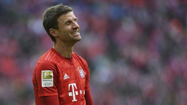 Thomas Muller mulai tersisih dari tim utama Bayern Munchen.