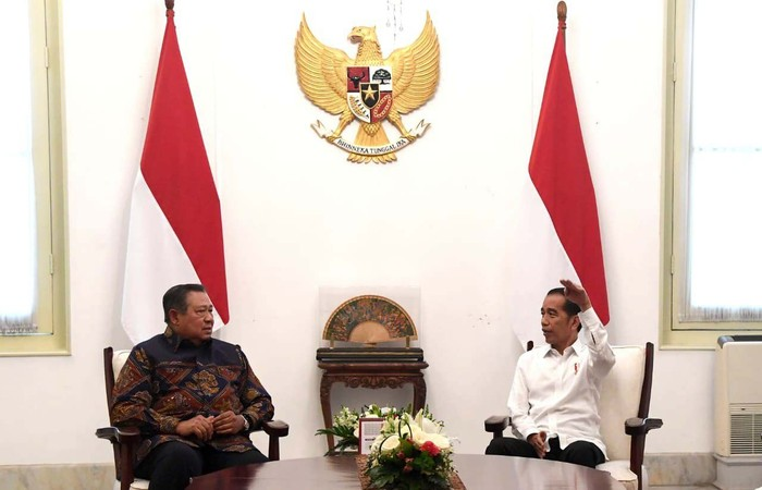Foto ilustrasi: SBY dan Jokowi (Setpres)