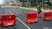 Ada Demo Buruh, Jalan Menuju Istana Ditutup Kawat Berduri
