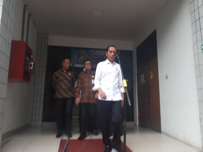 JokowiSebutWiranto Ditusuk Teroris