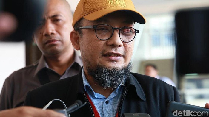 Penyidik KPK Novel Baswedan (Ari Saputra/detikcom)