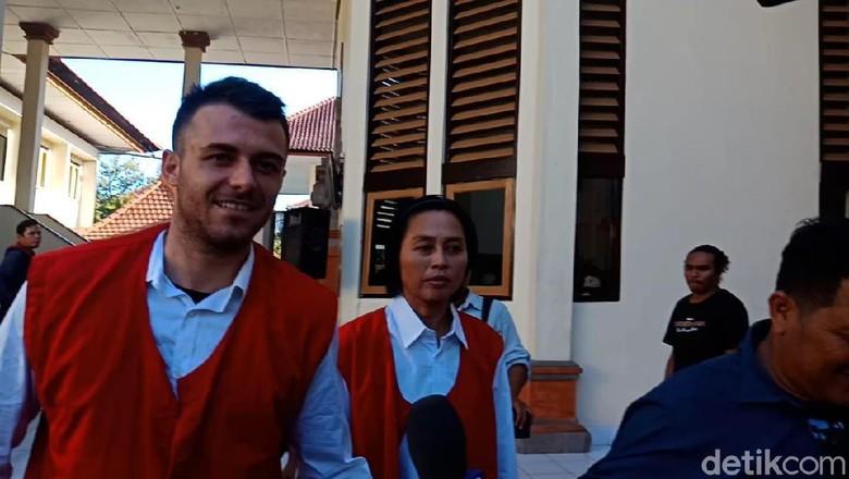 WN Australia Penjambret Turis Belanda di Canggu Bali Divonis 4 Bulan Bui