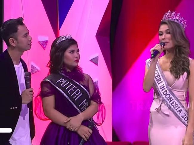 Akhirnya Meldi Bersanding dengan Putri Indonesia 2019, Tapi Kok Kabur?