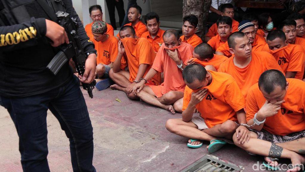 Ratusan Kasus Narkoba Diungkap dalam Operasi Nila Jaya 2019