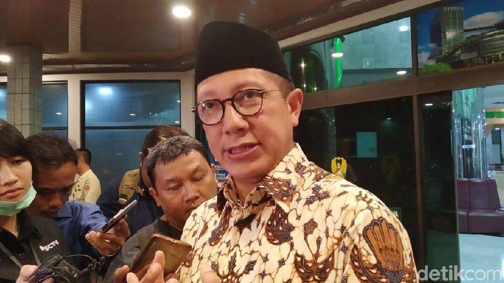 Mantan Menag Lukman Hakim Saifuddin Datangi KPK