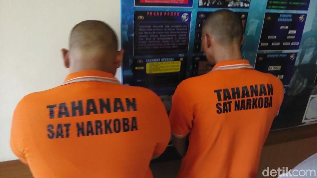 2 Sopir Bank di Makassar Ditangkap Nyabu di Mobil Kantor