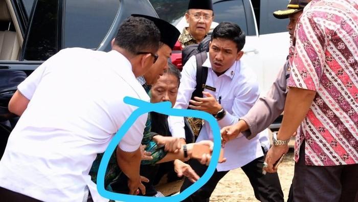 Wiranto ditusuk. Foto: Dok. Polres Pandeglang