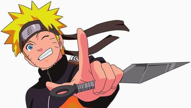 Belati sejenis juga dipakai oleh tokoh kartun Naruto.