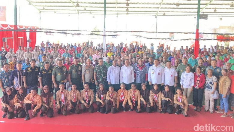 Menhan Ajak Tokoh Adat Musyawarah untuk Masa Depan Papua
