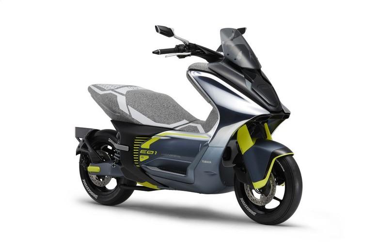 Motor listrik Yamaha. Foto: Dok. Yamaha