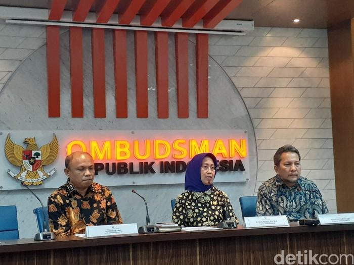 Konferensi pers Ombudsman (Yulida/detikcom)