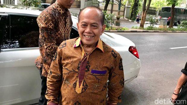 Pimpinan MPR sambangi rumah Megawati.
