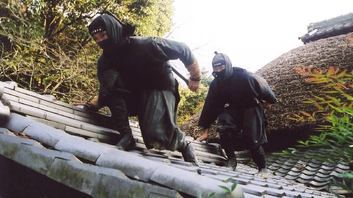 Ilustrasi Ninja