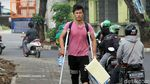 Pencari Suaka Aksi Long March ke Kebon Sirih