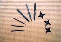 Berbagai senjata ninja (Ninja Museum)