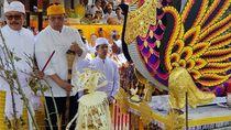 Para Petinggi Golkar Ikuti Upacara Ngaben di Bali
