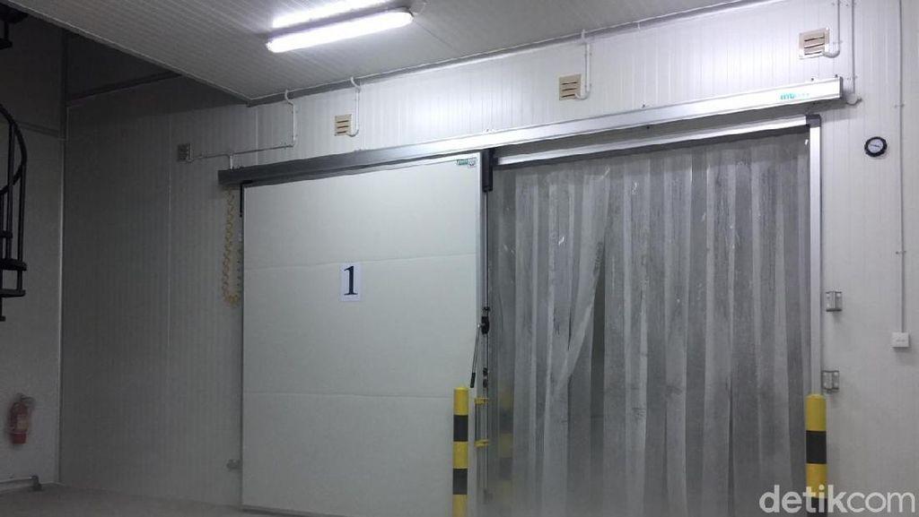 Cold Storage di Muara Baru Rampung, Mampu Simpan 1.000 Ton Ikan