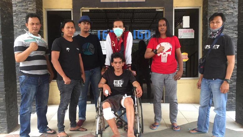 Polisi Tembak Pelaku Curanmor di Palembang
