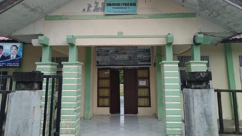 Ombudsman Geleng Kepala Lihat Kondisi SMA Negeri di Pulo Aceh