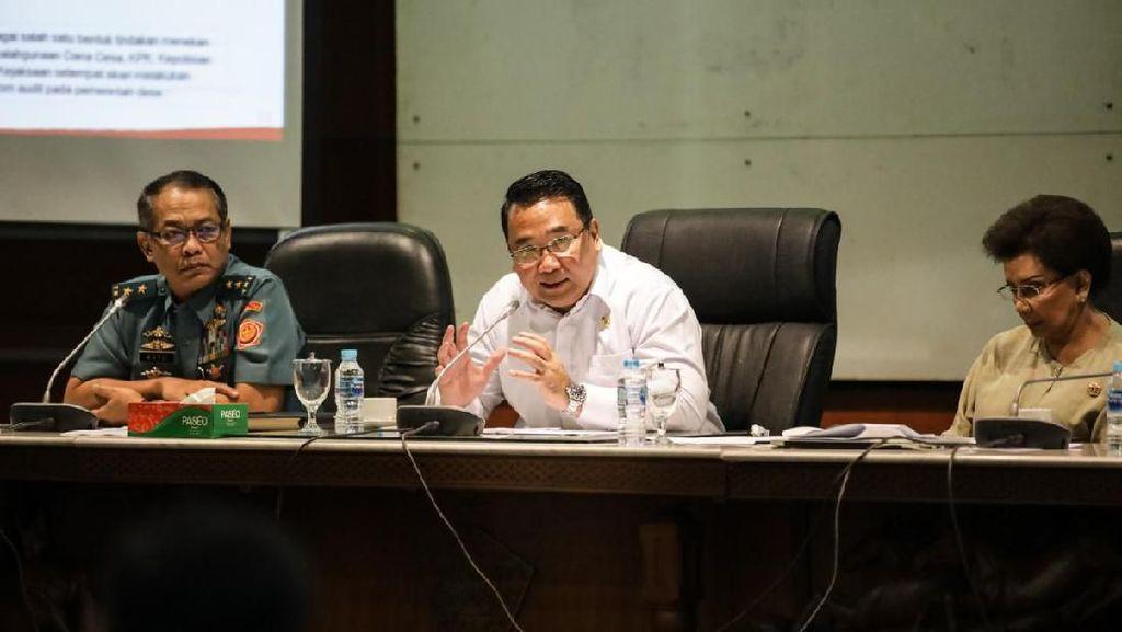 Ke Kades, Mendes Ingatkan Lagi Soal Pengawasan Dana Desa