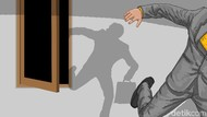 Viral Pria Bugil Terekam CCTV Saat Maling Sepeda