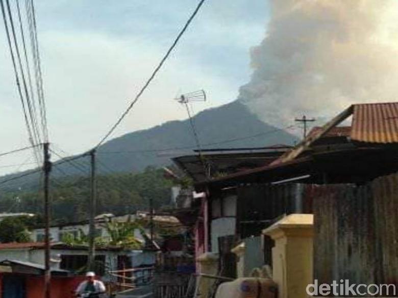 Gunung Arjuno Terbakar Lagi, Kali Ini di Ketinggian 2.300 Mdpl