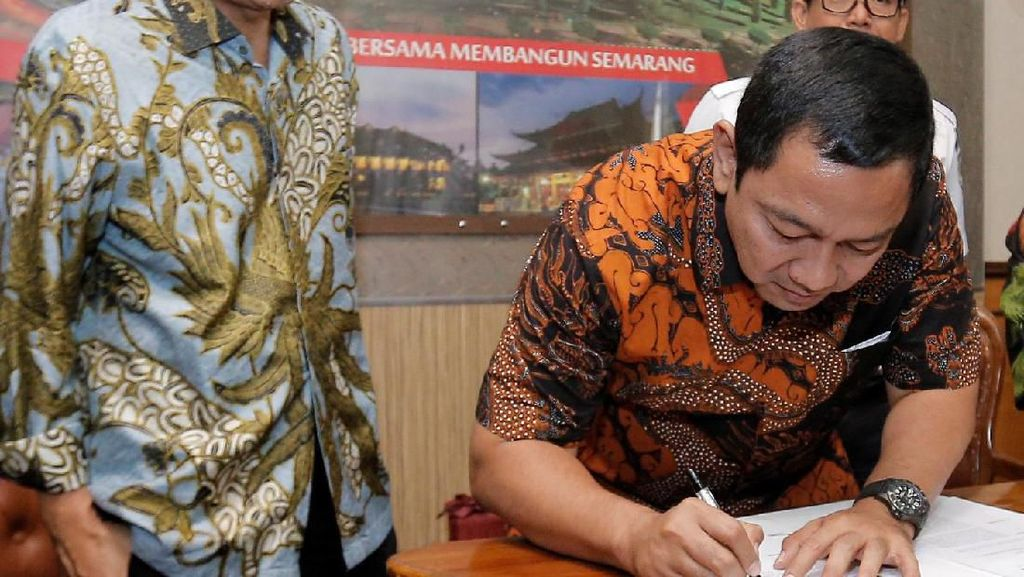 Wali Kota Semarang Akan Bangun Transportasi Kereta Dalam Kota