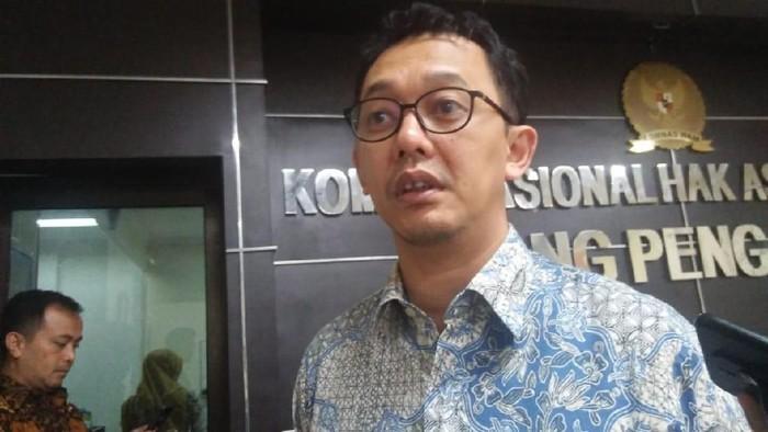 Komisioner Komnas HAM Beka Ulung Hapsara (Foto: Laras Devi/detikcom)