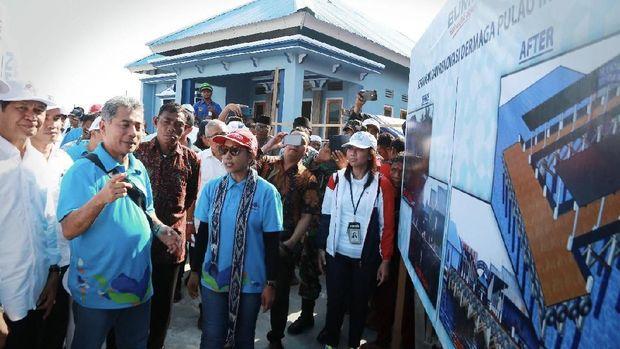 Di Pulau Messah NTT, BRI Bangun Sarana Umum Senilai 1,3 M