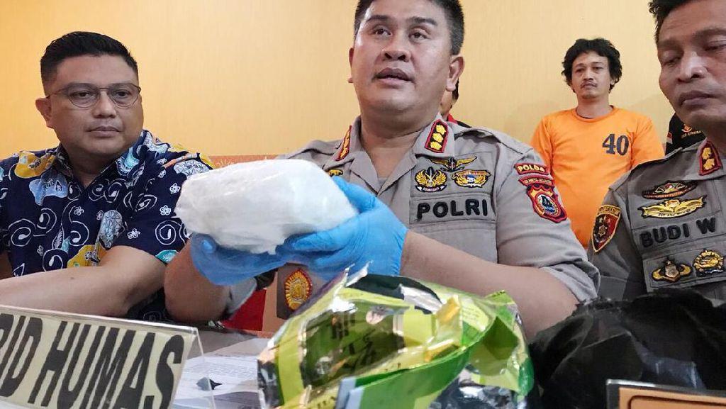 Polisi Tangkap Pengedar 1 Kg Sabu Seharga Rp 1,5 Miliar di Sulsel