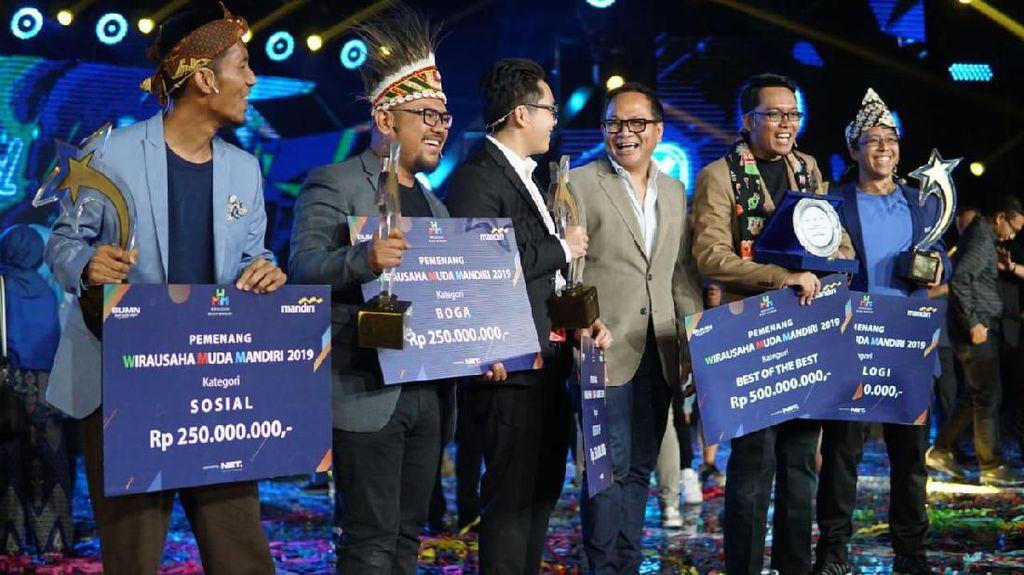 Ini Kampiun Wirausaha Muda Terbaik Pilihan Bank Mandiri