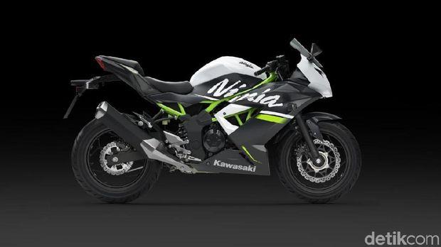 Kawasaki Ninja 250SL kelir putih