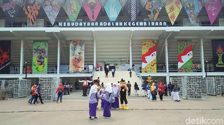 Pekan Kebudayaan Nasional 2019 (Randy/detikcom)