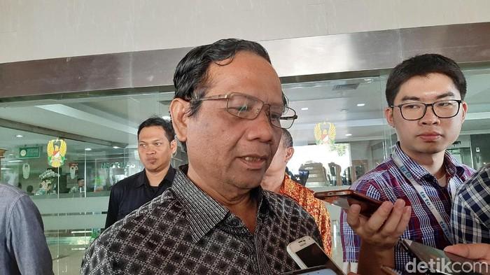 Menko Polhukam Mahfud Md (Lisye Sri Rahayu/detikcom)