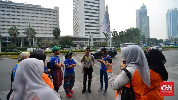 Enam Rute Wisata di 'Jakarta Walking Tour'