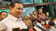 Prabowo juga Jenguk Kivlan Zen di RSPAD
