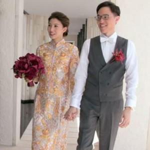 Nikah di Bali, Crazy Rich Ini Pakai Gaun Bernilai Lebih dari Setengah Miliar