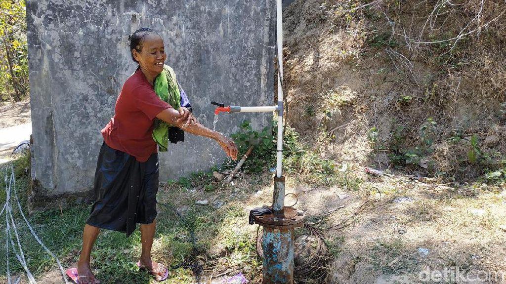 Tenaga Surya Diaplikasikan untuk Sedot Air Atasi Kekeringan di Pacitan