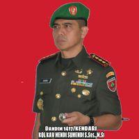 Profil Kolonel Hendi, Dandim Kendari yang Dicopot Gegara Posting Istri