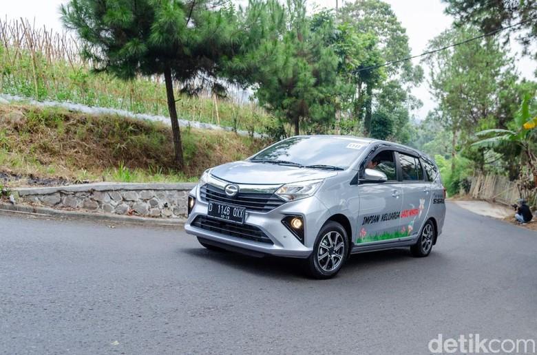 Test Drive Daihatsu Sigra di Bandung, Jawa Barat, Kamis (10/10/2019).
