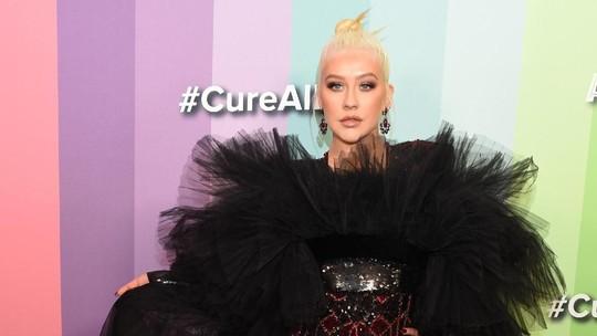 Penampilan Heboh Christina Aguilera Usai Diberitakan Bangkrut