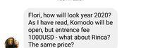 Isu Tiket Masuk Komodo Rp 14 Juta, Warga Lokal Tenangkan Turis