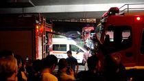 Jalan Layang Ambruk dan Timpa Mobil di China, 3 Orang Tewas