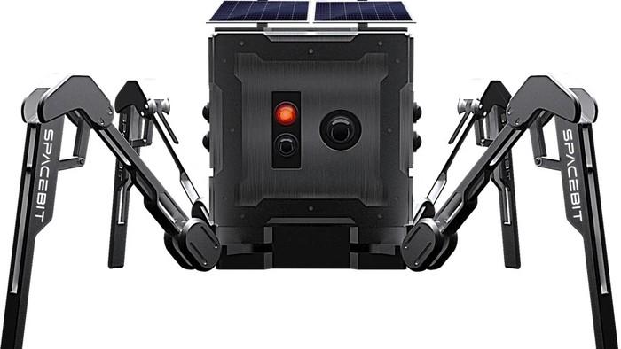 Rover mini milik Inggris yang bakal mendarat di Bulan. Foto: Press Association (PA)