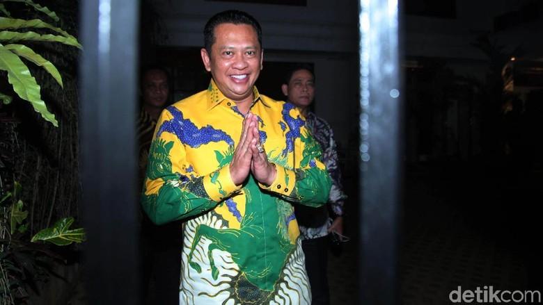 Pimpinan MPR Datangi Rumah Prabowo di Kertanegara
