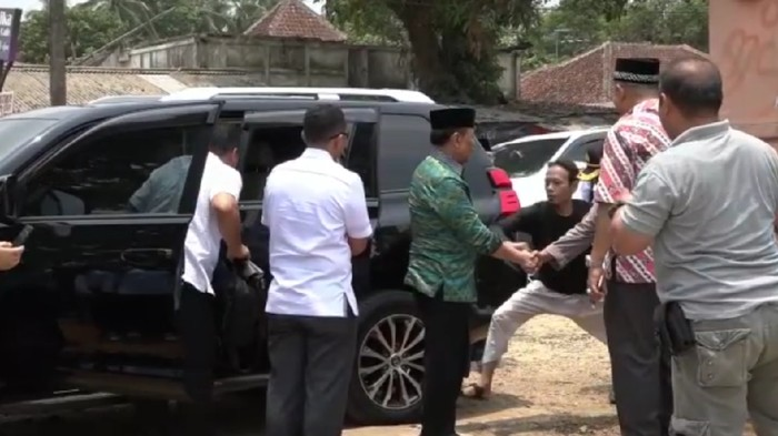 Detik-detik Wiranto diserang. Foto: 20Detik