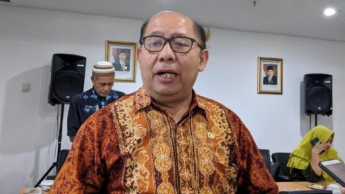 Ketua sementara DPRD DKI Jakarta Pantas Nainggolan  (Dwi Andayani/detikcom)