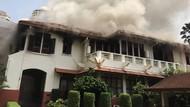 Penampakan KBRI Bangkok yang Dilanda Kebakaran